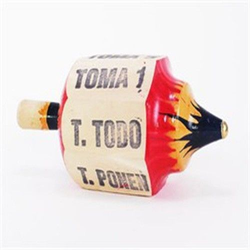 Pirinola-Toma-todo-Wood-Medium-size-Mexican-Traditional-Toy-Handmade-New