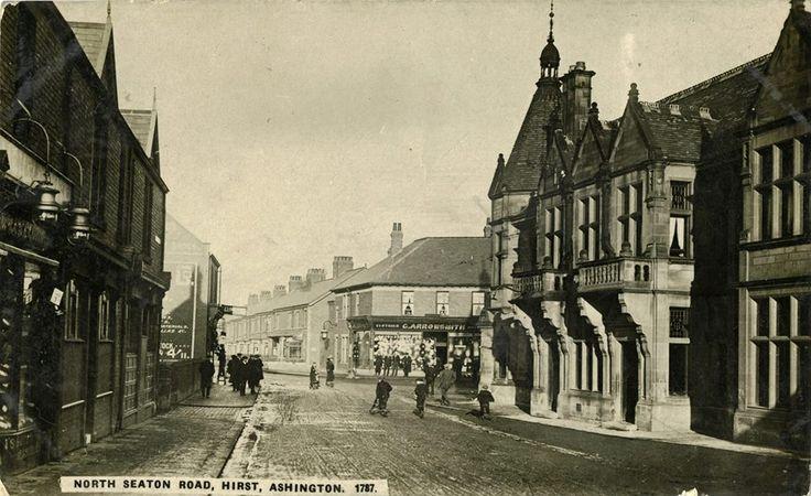 The Grand Hotel, Ashington,Northumberland c1930