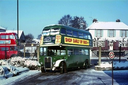 London Transport RT LYR929 Romford Garage Bus Photo | eBay