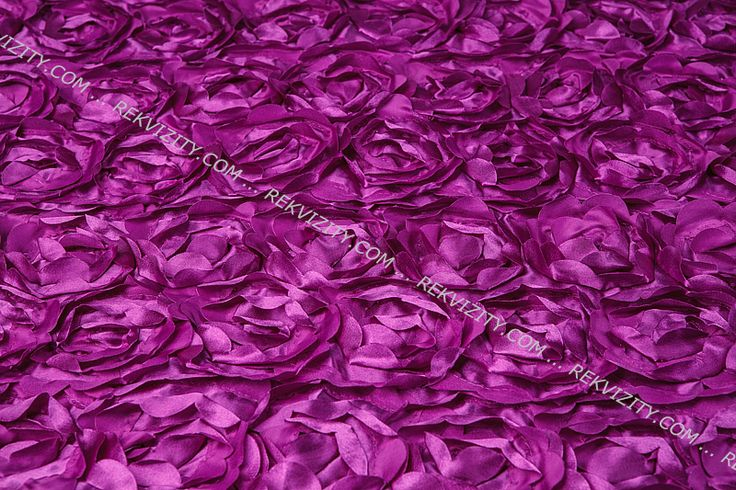DEKA 3D růže, fialová