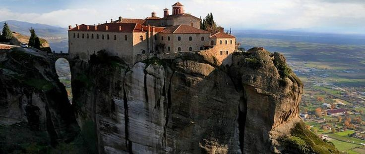 The monastery of Saint Stephen is the most accessible monastery of meteora, where instead of steps you simply cross a small bridge to enter.