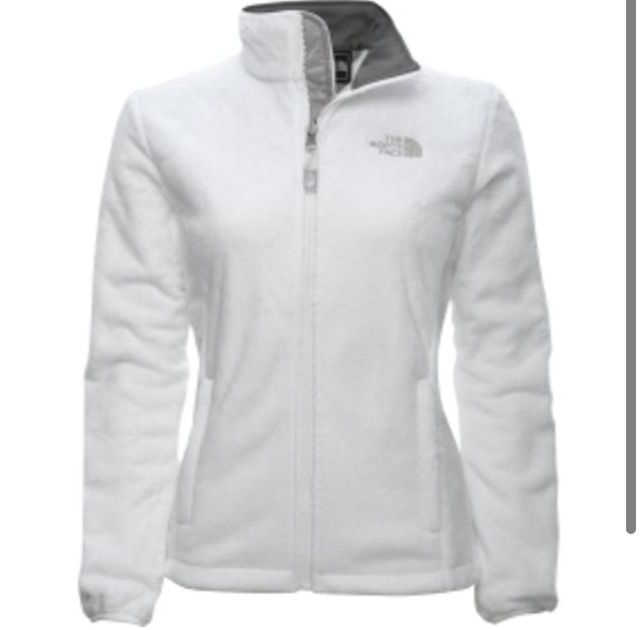 White NorthFace Jacket ; really want this jacket