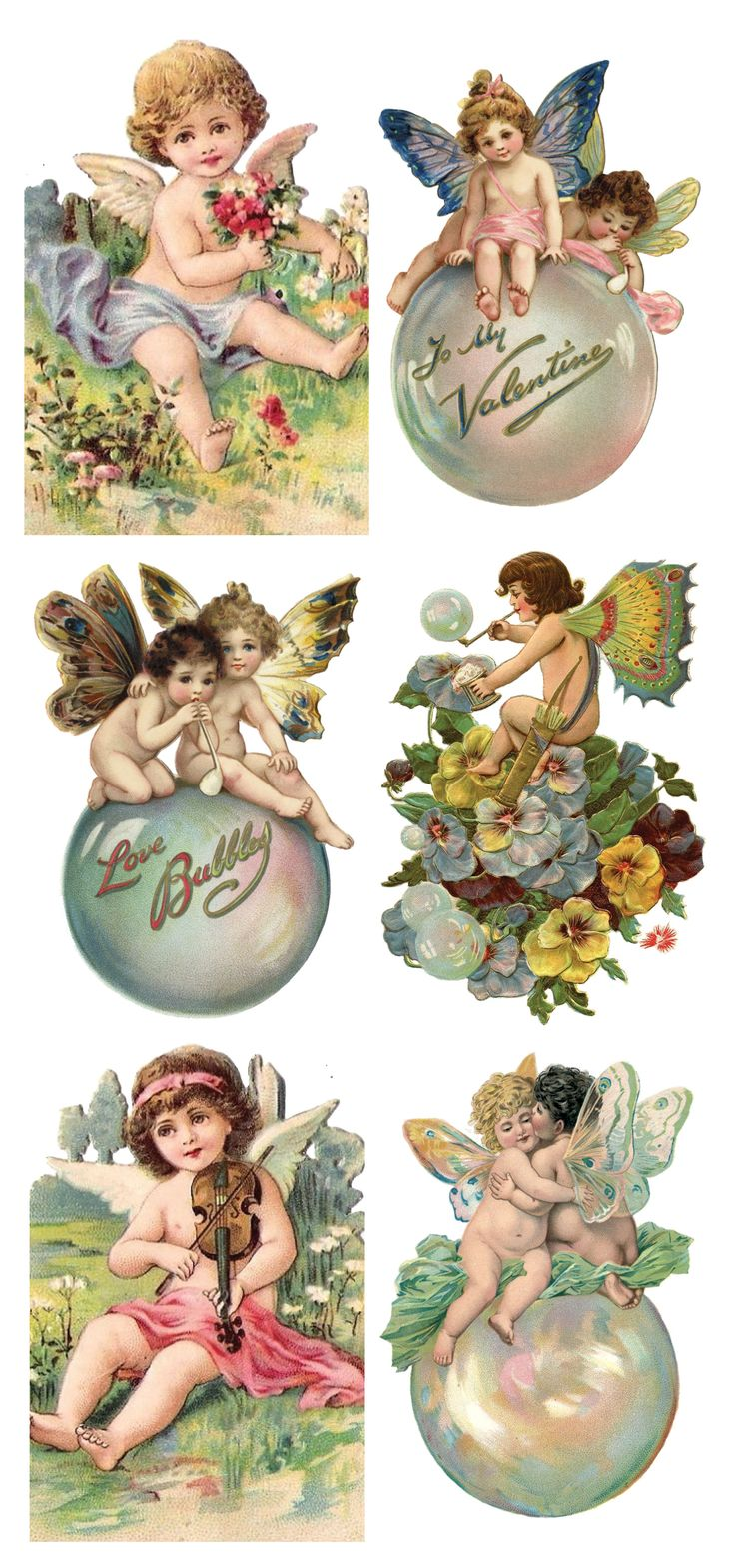 Violette Stickers : Archives : Product Categories : Trade Card Stickers
