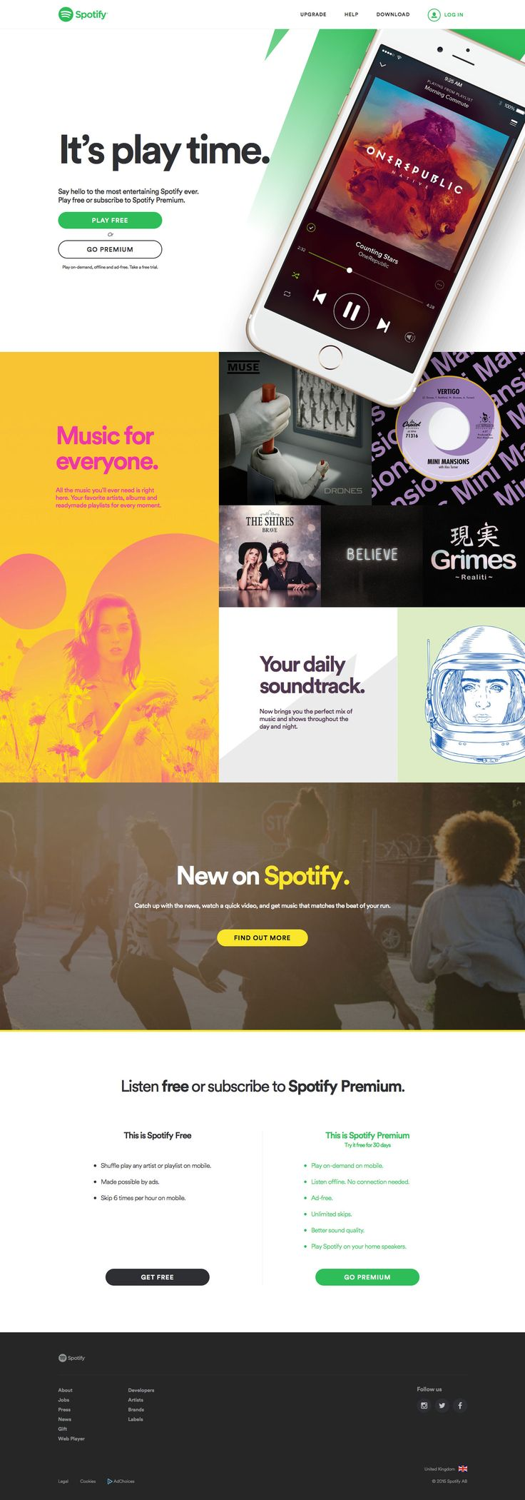 Spotify - Music for everyone