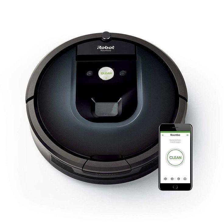 iRobot Roomba 981 AppSteuerung; EEK A Roomba vacuum