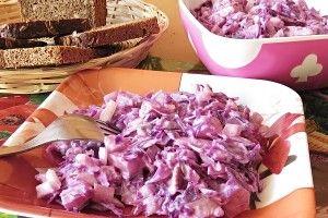 Severský matjesový salát