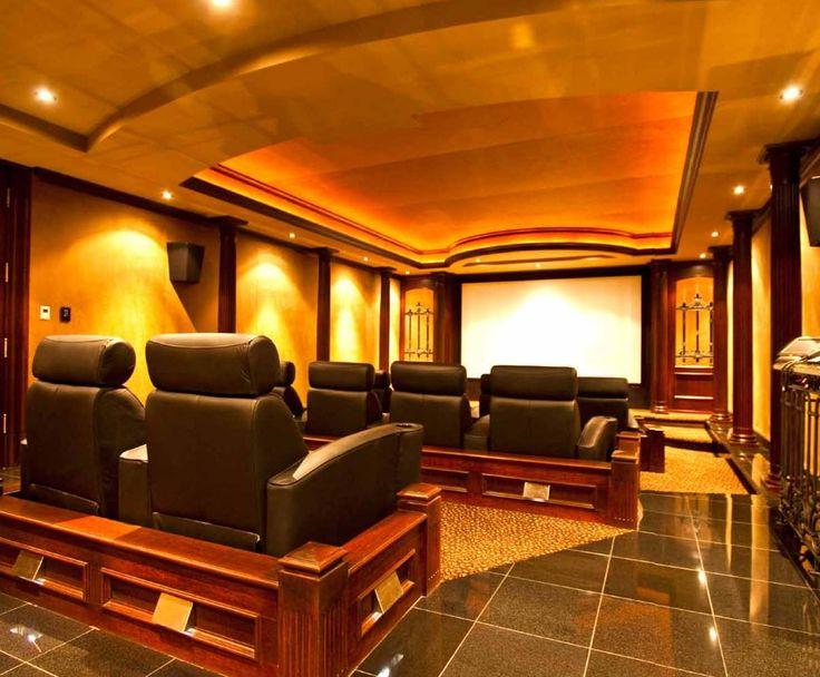 Dise os para una sala de cine en casa home cinema - Sala de cine en casa ...