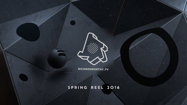 Collection of my favourite commercial and personal projects to date.  Rich Nosworthy CG Generalist / 3D Motion Designer  Available for Freelance www.richnosworthy.tv  Music - Singularity - Hollow & Akimbo (Com Truise Remix)