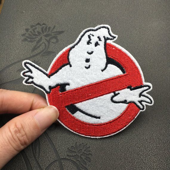 Ghost Busters Ghostbusters patch movie role patch cute funny