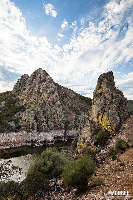 Salto del gitano - Parque Nacional del Monfragüe, Cáceres Spain