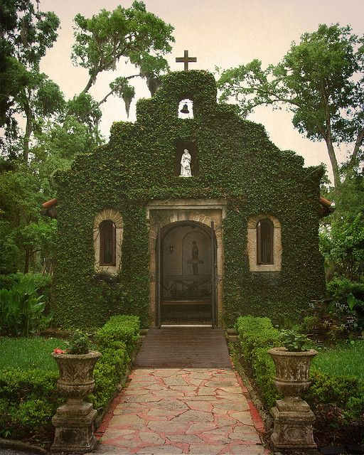 Chapel Mission of Nombre de Dios site of the founding of St. Augustine Florida September 8, 1565