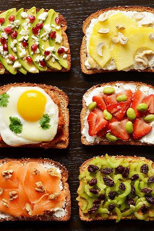 Fancy Breakfast Toasts | 21 Easy Brunch Dishes Even The Most Hungover Person Could Make