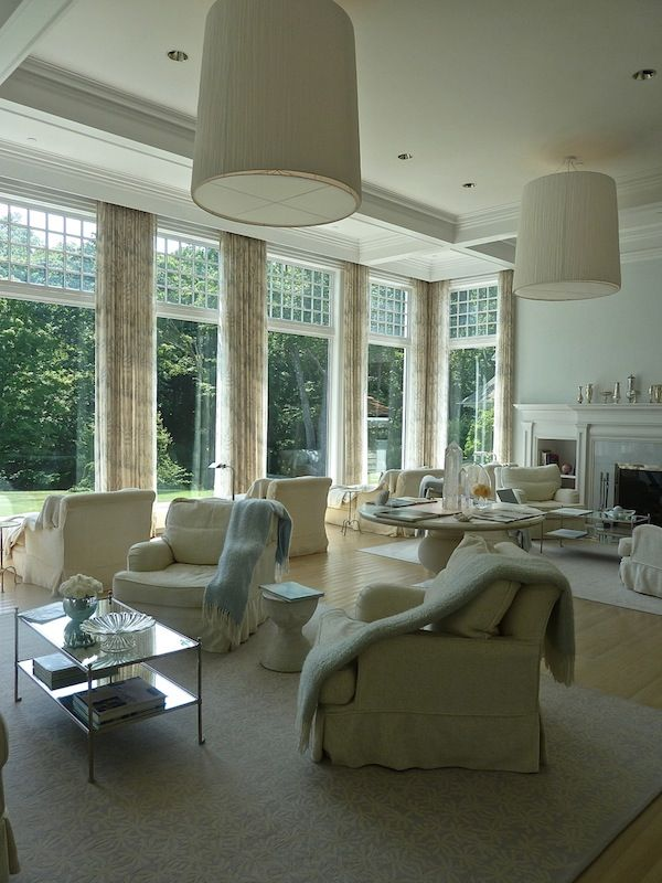 The gorgeous Garden Room, overlooking Blue Heron Pond is a little slice of heaven.  Mayflower Inn and Spa