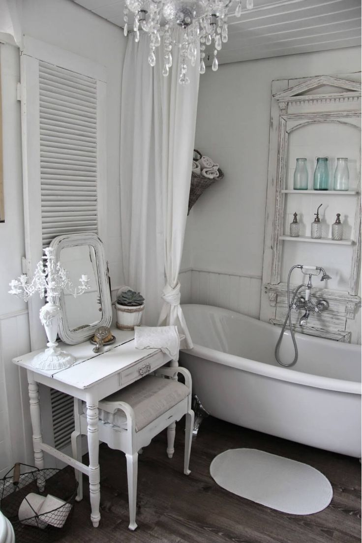 17 Best Ideas About Shabby Chic Bathrooms On Pinterest Shabby Chic Storage