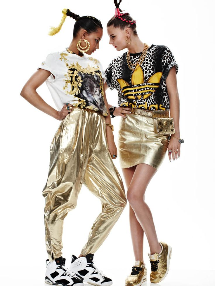 sporty chic - Melissa Bell and Katherine Webster by Tim Ashton in She Got Game for Fashion Gone Rogue