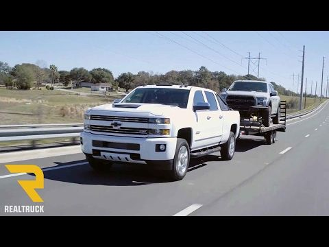 2017 Chevy Silverado 2500 HD First Impressions Overview and Test Drive - YouTube