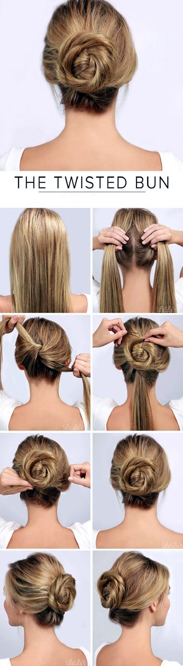 Easy To Do Hairstyles Glamorous 55 Best Easy Hairstyles Images On Pinterest  Hairstyle Ideas Cute
