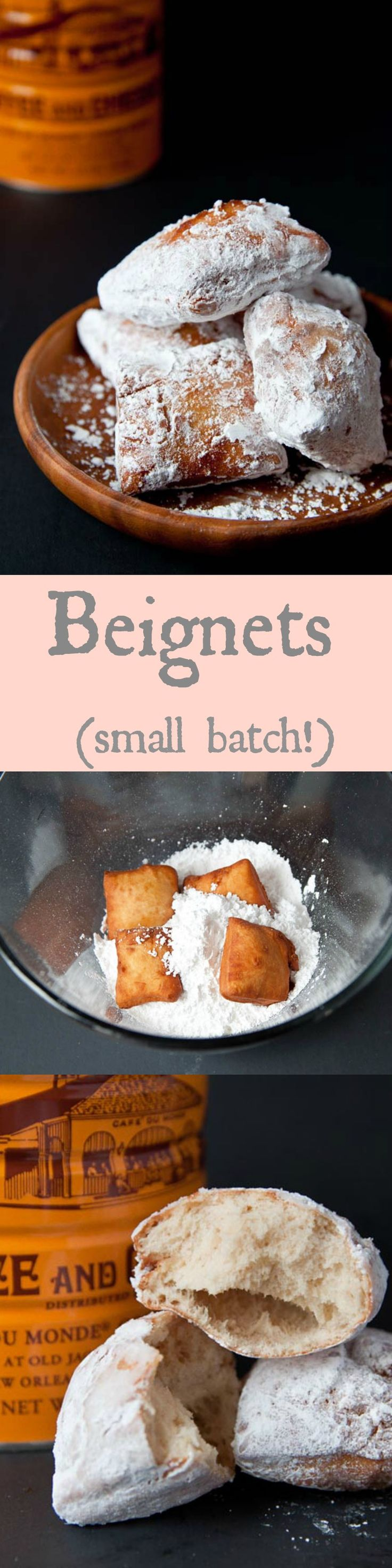Beignets made from scratch!