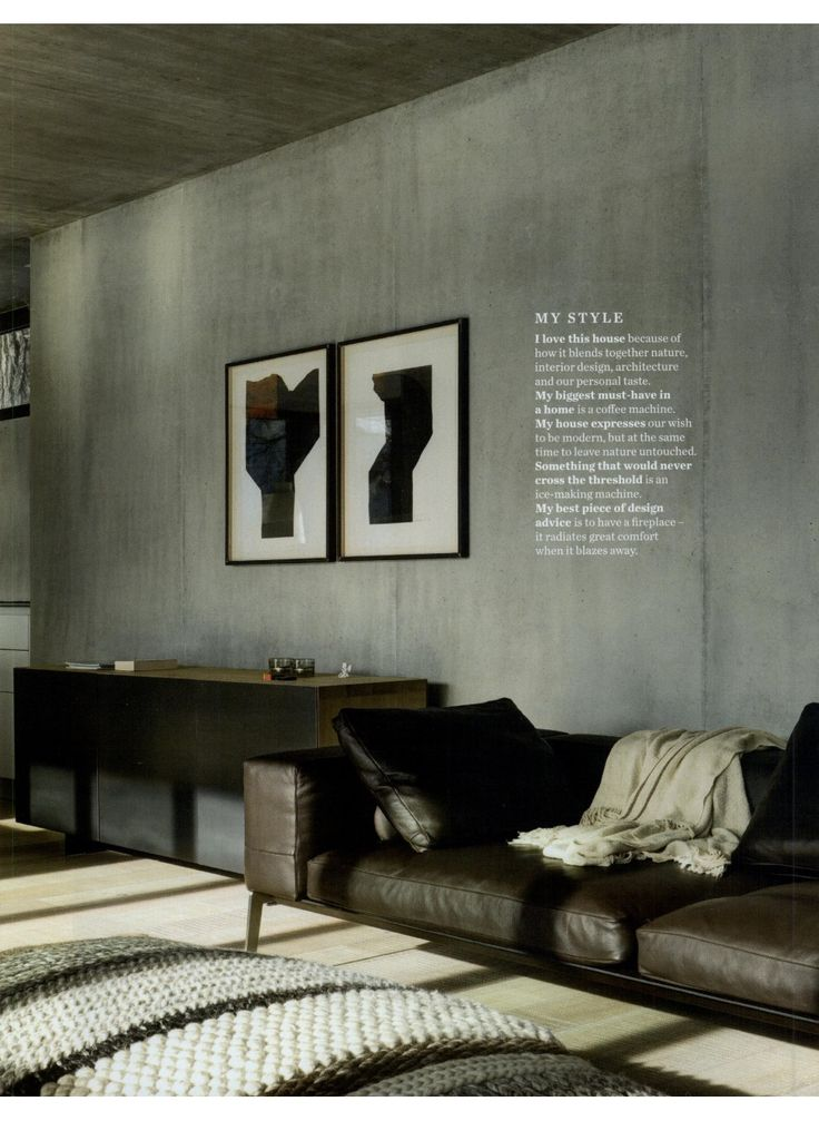 Lifesteel sofa on elle decoration uk january issue for 26 january decoration