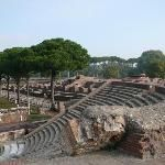 For those who can stay one more day in Rome a trip to Ostia Antica is highly recommended. To get there take metro line B to Piramide stop and then get on the train to Ostia Lido. After a 30 minute ride you'll stop to Ostia Antica. A short walk will get you to the entrance of the ruins