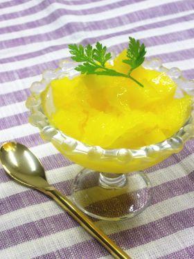 「●マンゴーのグラニテ」ブールドネージュ | お菓子・パンのレシピや作り方【corecle*コレクル】