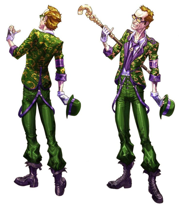 For Zman ideas for Batman: Arkham City - Riddler cosplay