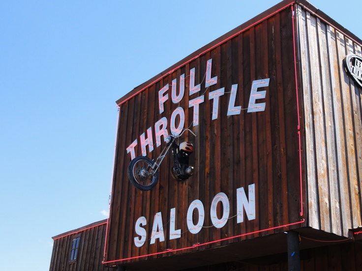 Full Throttle Saloon -Sturgis. Love this show and so wanna go there some day!!!!