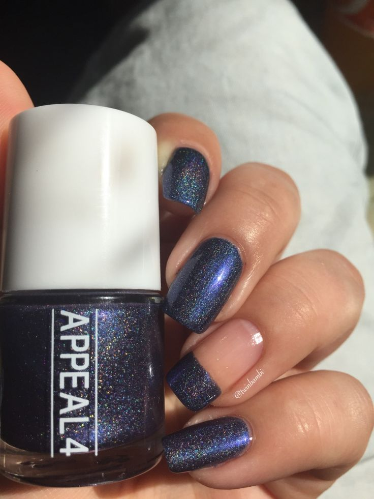 @appeal4 Crown Lapis Shattered holo.  Bought from @luxbeauty0253