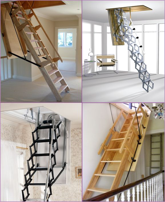 17 Best Images About Electric Loft Ladders On Pinterest