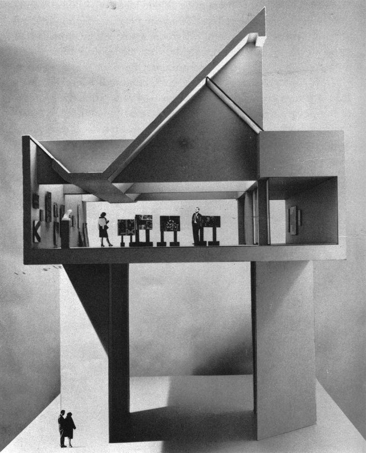 Fine Arts Center, University of Massachusetts, Amherst, Massachusetts, 1964  (Kevin Roche & John Dinkeloo)