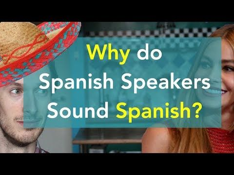In this video, I explain why Spanish people sound Spanish when speaking English. I break down the accent features and demonstrate them using clips of Sofía V...
