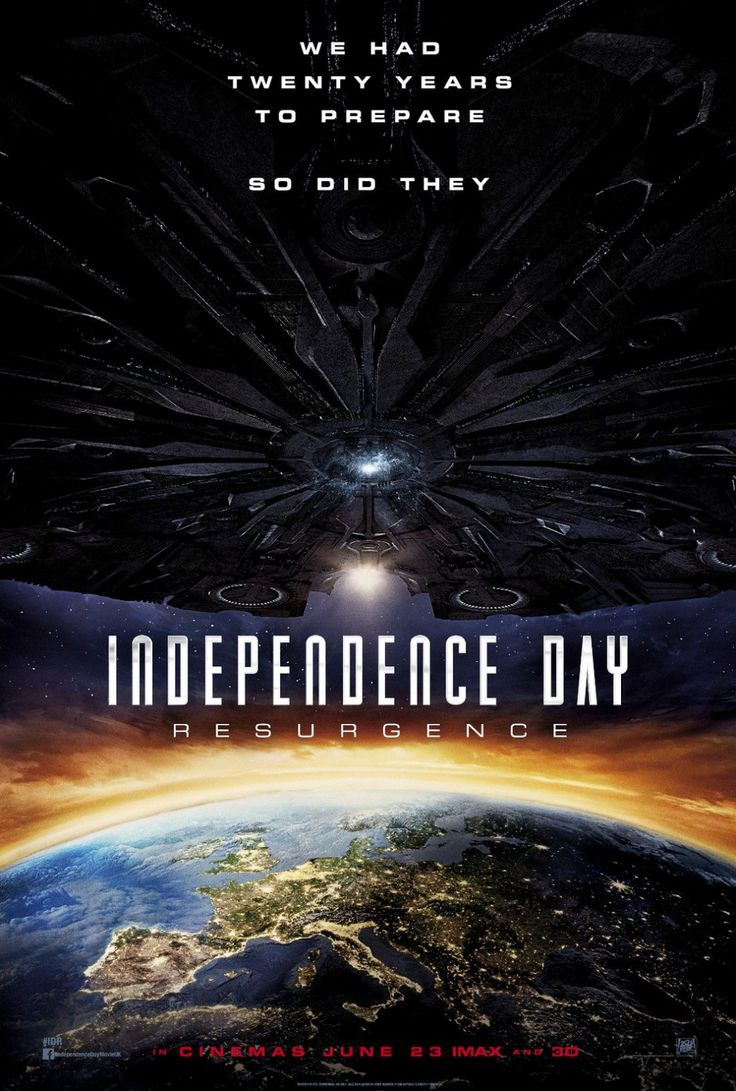 Independence Day: Resurgence (2016), efeitos especiais bons mas algumas cópias de Prometheus e Interstellar e elenco fraco.