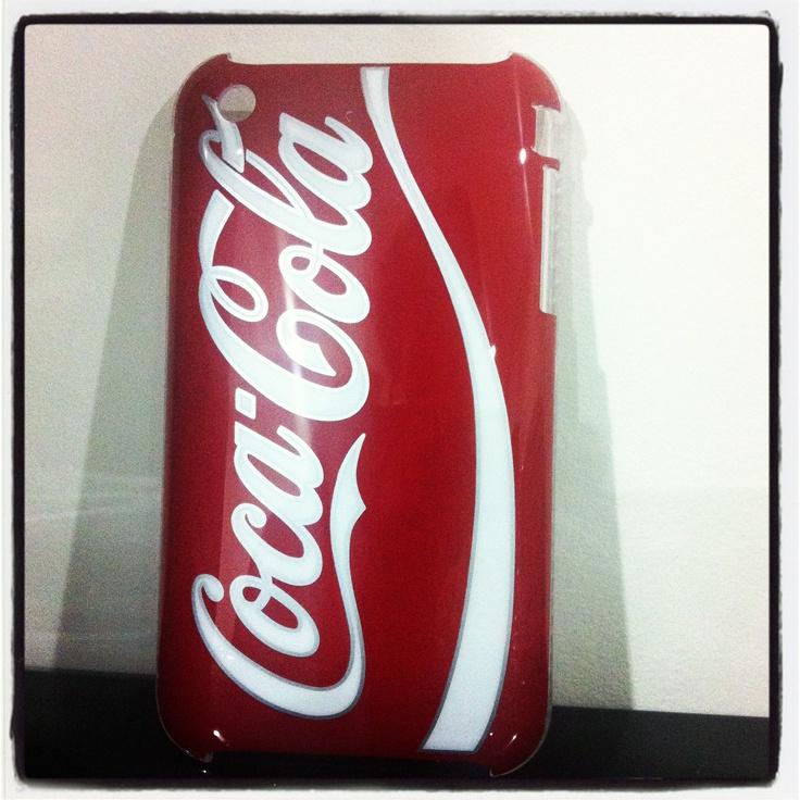 Capa Rígida da Coca-Cola para iPhone 3/3GS