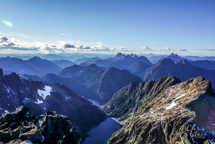 Views from the Golden Hinde , largest mountain on Vancouver Island in British Columbia #MindfulExplorer #adventure #outdoors #hiking #exploreBC #mountains