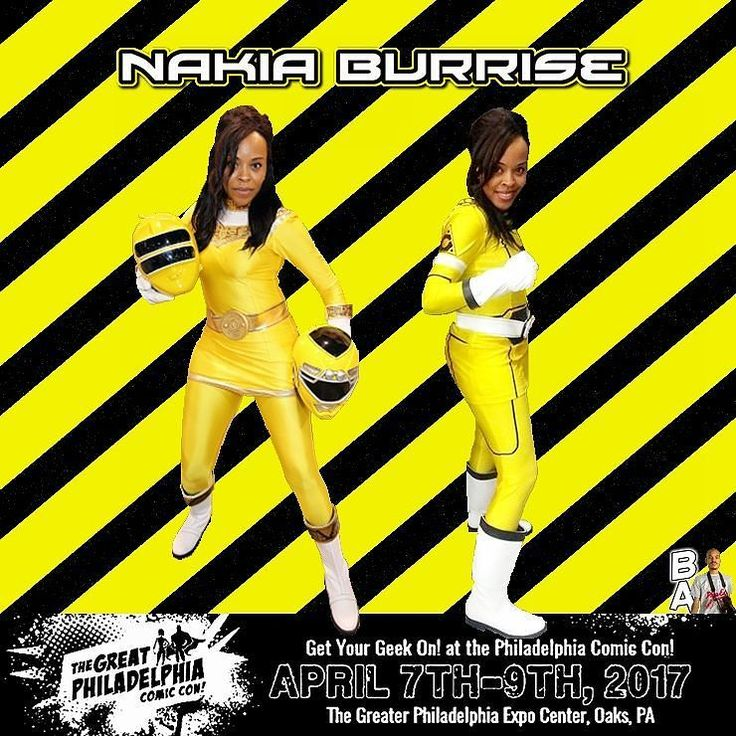 The Great Philadelphia Convention is @nakiaburrise next destination. Will you be there in April?  #trentonnjpromoter #nakiaburrise #nakiabunleashed #teamnakkab #theordermovie #Beatmaticsupports #actorslife #mightymorphinpowerrangers #mmpr #powerrangerszeo #yellowranger #tvactor #television #powerrangers #turbo #mightymorphin #actresslife #powerrangersturbo #entertainment #yellow #2017Unleashed #philly #philadelphia #expo #oaks #comiccon #cosplay #beatmaticartwork #pa #classdismissedseries
