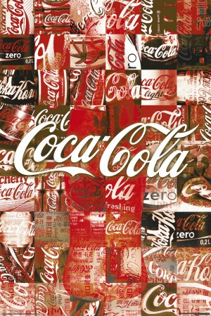 Coca-Cola - Patchwork Póster
