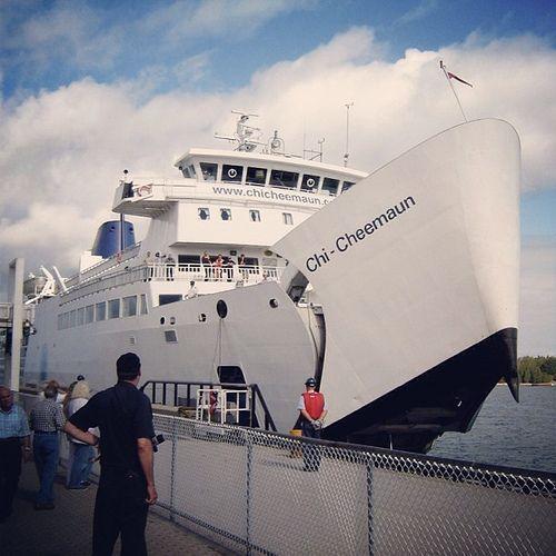 Chi-Cheemaun #ferry #Tobermory #ontario #canada #oh_canada...