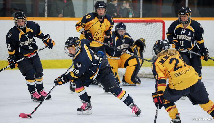 Ally Strickland, 2012-13 Women's Hockey, Credit: Edwin Tam