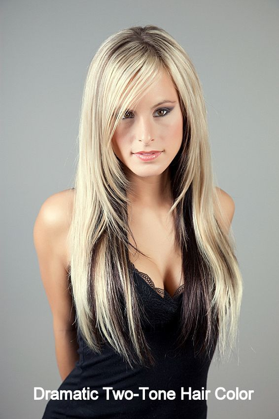 two tone hair color styles 1000 ideas about two toned hairstyles on 3392