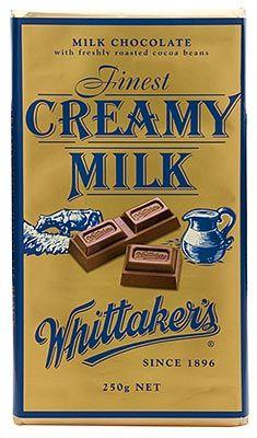Whittakers - Creamy Milk Chocolate - 250g | Shop New Zealand