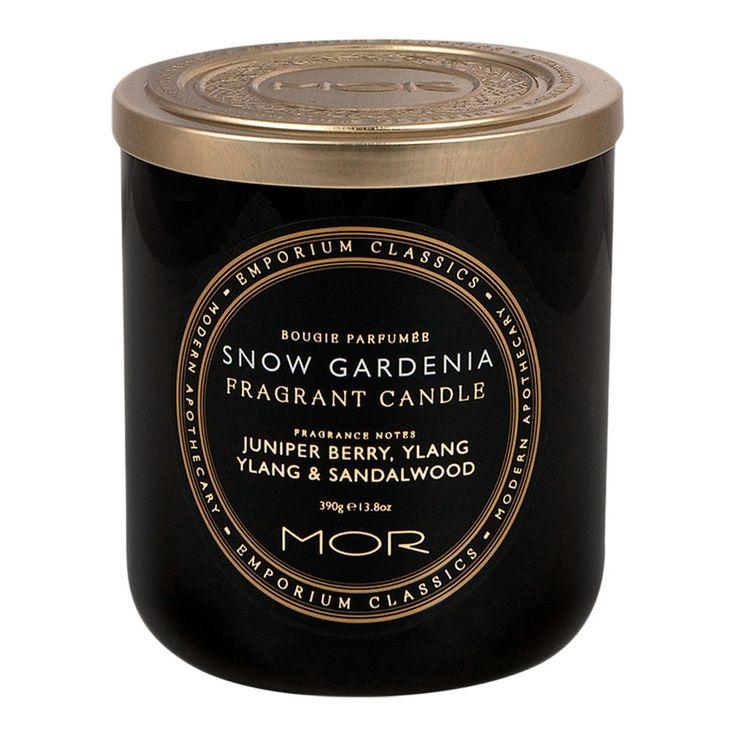 Buy MOR Emporium Classics Snow Gardenia Fragrant Candle 390g | Sephora Australia
