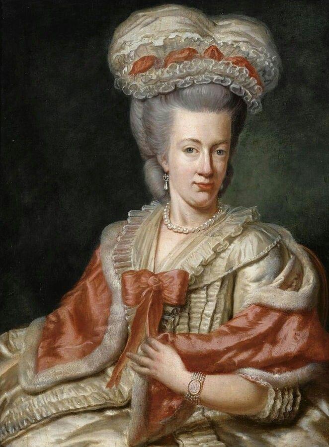 Portrait de Marie Amélie d'Autriche, duchesse de Parme