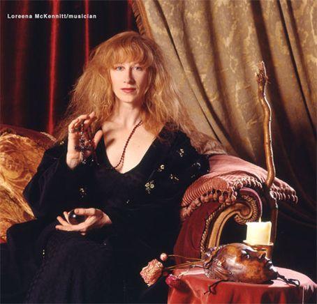 Loreena McKennitt, the Irish gypsy!
