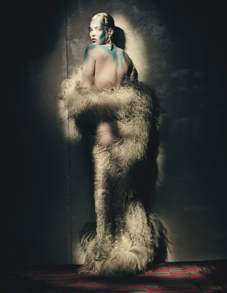 Kate Moss by Paolo Roversi for W Magazine April 2015 1