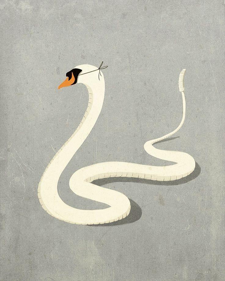Visionary Minimalistic Illustrations by Andrea Ucini – Fubiz Media