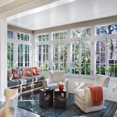 1000 images about sunroom ideas enclosed porches on for Sunroom windows ideas
