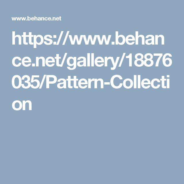 https://www.behance.net/gallery/18876035/Pattern-Collection