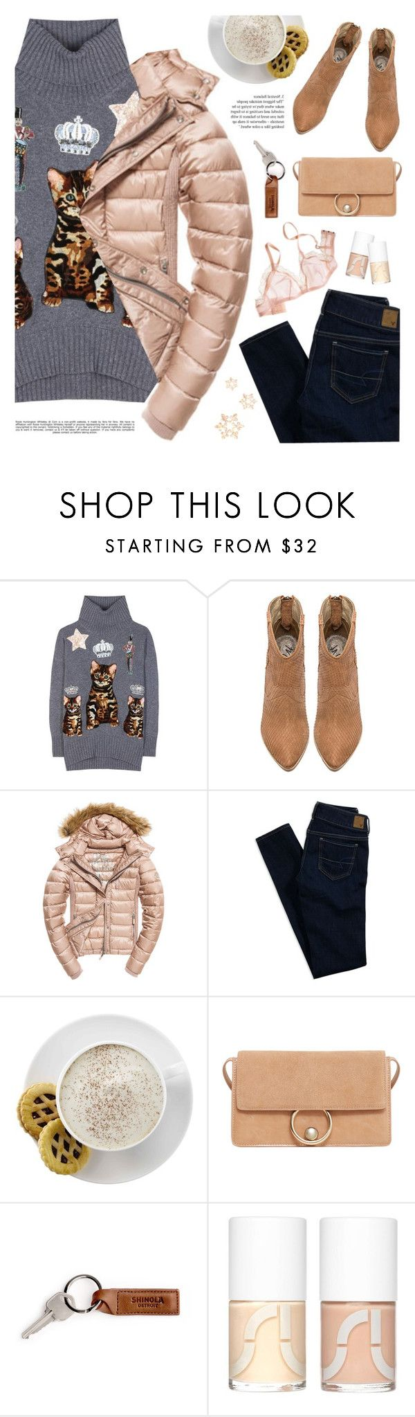 """Hey, Girl: Pretty Pink Coats 🌼"" by fashiondiaryy ❤ liked on Polyvore featuring Dolce&Gabbana, Fuji, American Eagle Outfitters, Mr. Coffee, MANGO, Uslu Airlines and Whiteley"