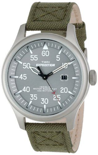 Timex Men's T49875 Expedition Military Field  Green Nylon Strap Watch Timex http://www.amazon.com/dp/B0073RIH30/ref=cm_sw_r_pi_dp_KeN.tb13HP53T