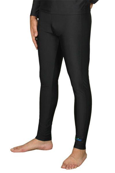 MEN PLUS SIZE UV PROTECTION CLOTHING SWIM TIGHT BLACK #ECOSTINGER #SWIMTIGHTBLACK